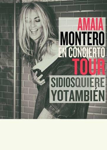 Reynazul Tu Radio Amiga Y Viva Por Siempre Amaia Montero En Concierto 23 De Octubre Teatro Opera Amaia Montero Concierto Teatro De Opera