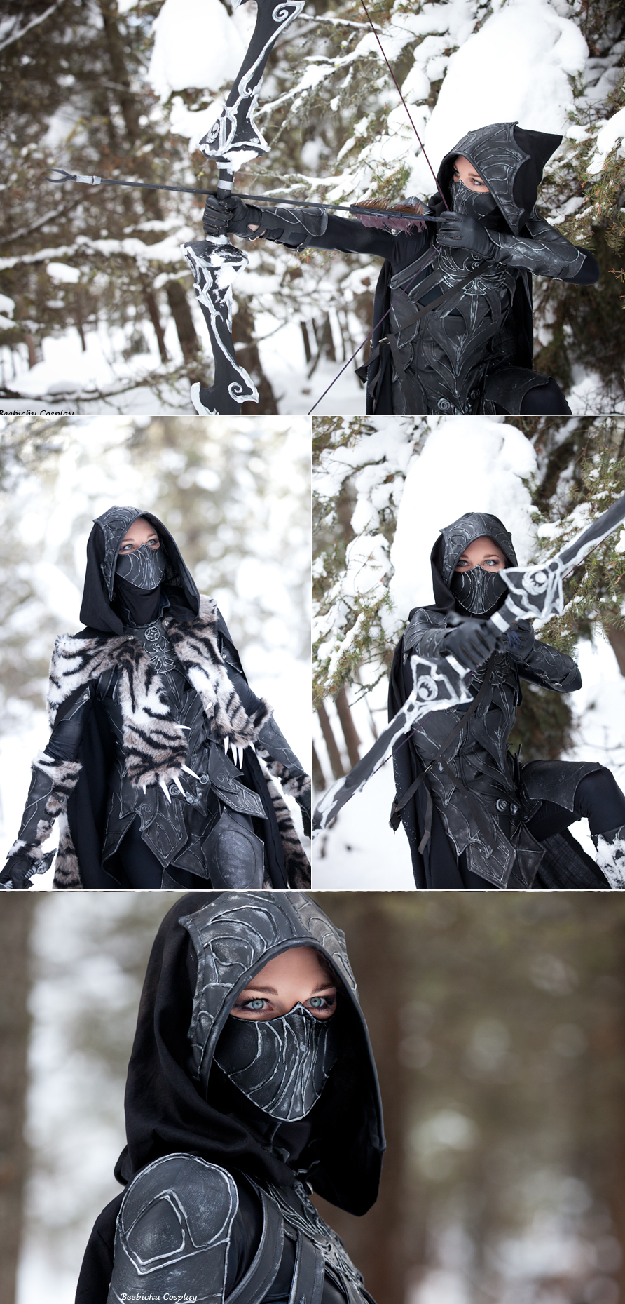 skyrim - nightingale armor | inspirational fashion | pinterest