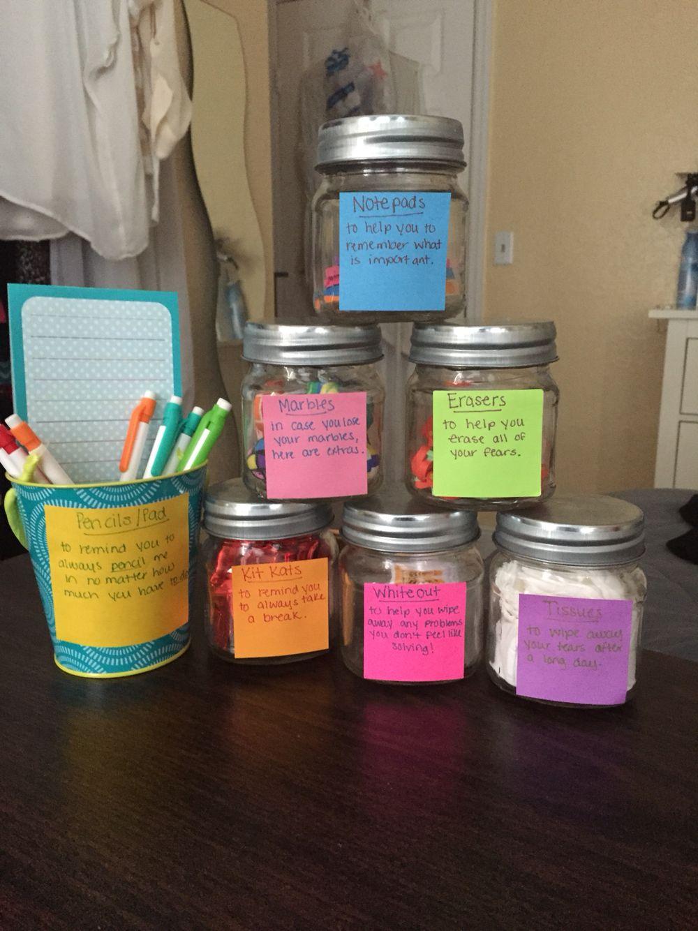 New job survival kit Creative gifts Pinterest