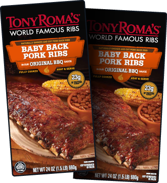 Prepare For The Big Game With Tony Roma S World Famous Pre Cooked Ribs Get This Coupon And Save On Bbq Ribs For Your Wat Food Food To Make Baby Back Pork Ribs