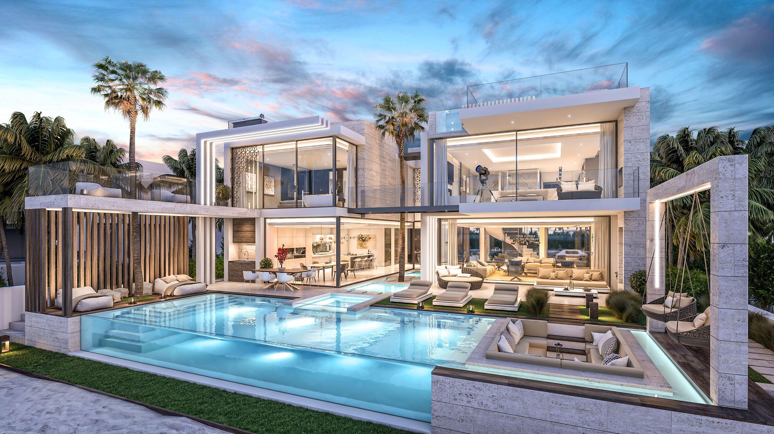 The Palm Villa Dubai UAE