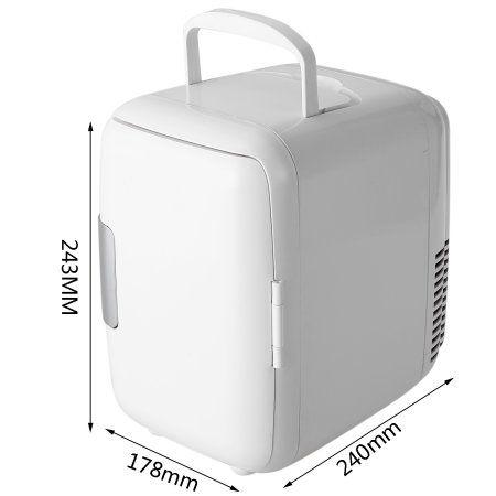 4l Portable Mini Fridge Cooler And Warmer Icebox Travel Refrigerator Cooler Box Auto Car Boat Home Offic Portable Mini Fridge Refrigerator Cooler Fridge Cooler