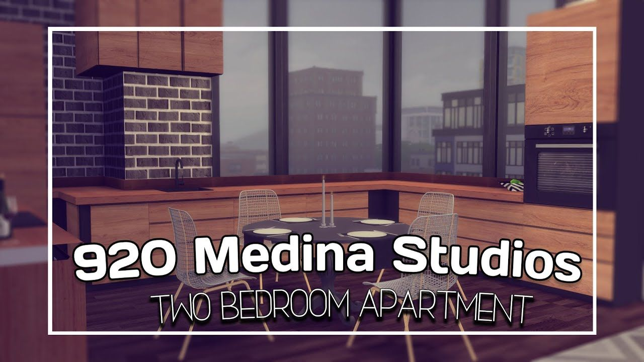 The Sims 4 City Living Speed Build 920 Medina Studios Cc Links Apa Sims 4 City Living Sims City Living City Living