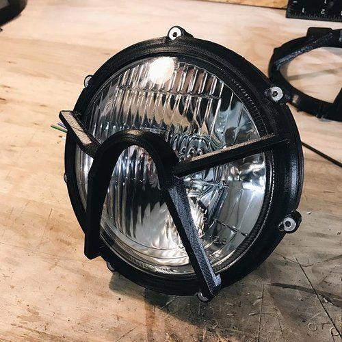 By Far The Longest Print Headlight Housing For The Tw 125 More Details Soon Headlight Yamaha Tw125 Tw200 Custom Motorbike Design Cafe Racer Scrambler