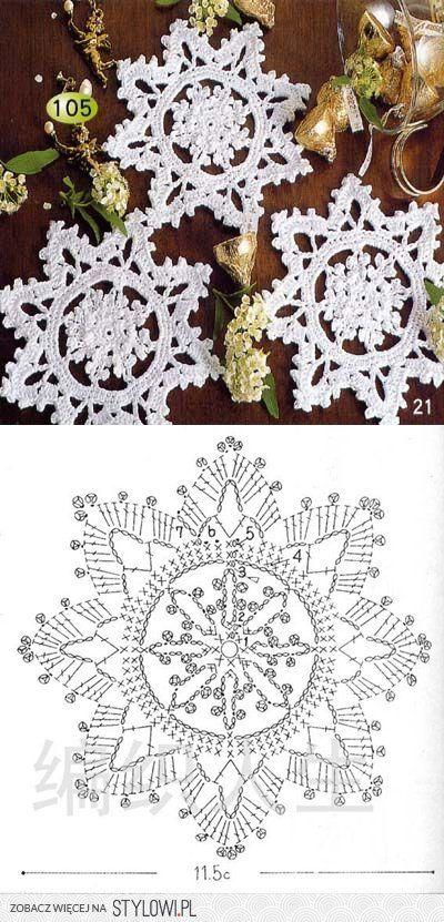 http://stylowi.pl/26378740 | CHRISTMAS CROCHET | Pinterest ...