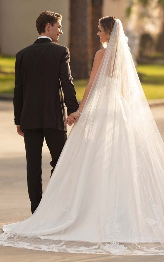 Photo of Wedding Dresses Lace Beach 6763+ Simple and Sleek Plus Size Wedding Gown by Stella York