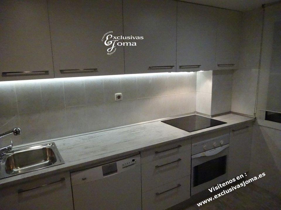 Remodelación de cocina en sector mares en Tres Cantos. Muebles de ...