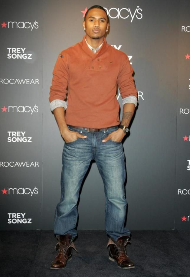 Trey songz the new face of rocawear visits macys style pinterest trey songz the new face of rocawear visits macys gumiabroncs Choice Image
