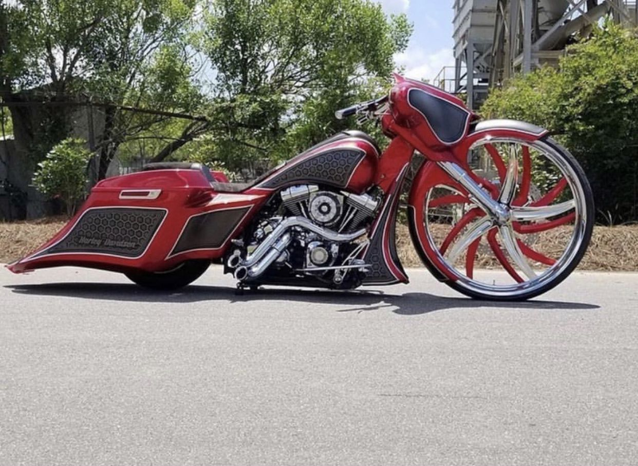 Pin by French Fuqua on Baggers Harley davidson trike
