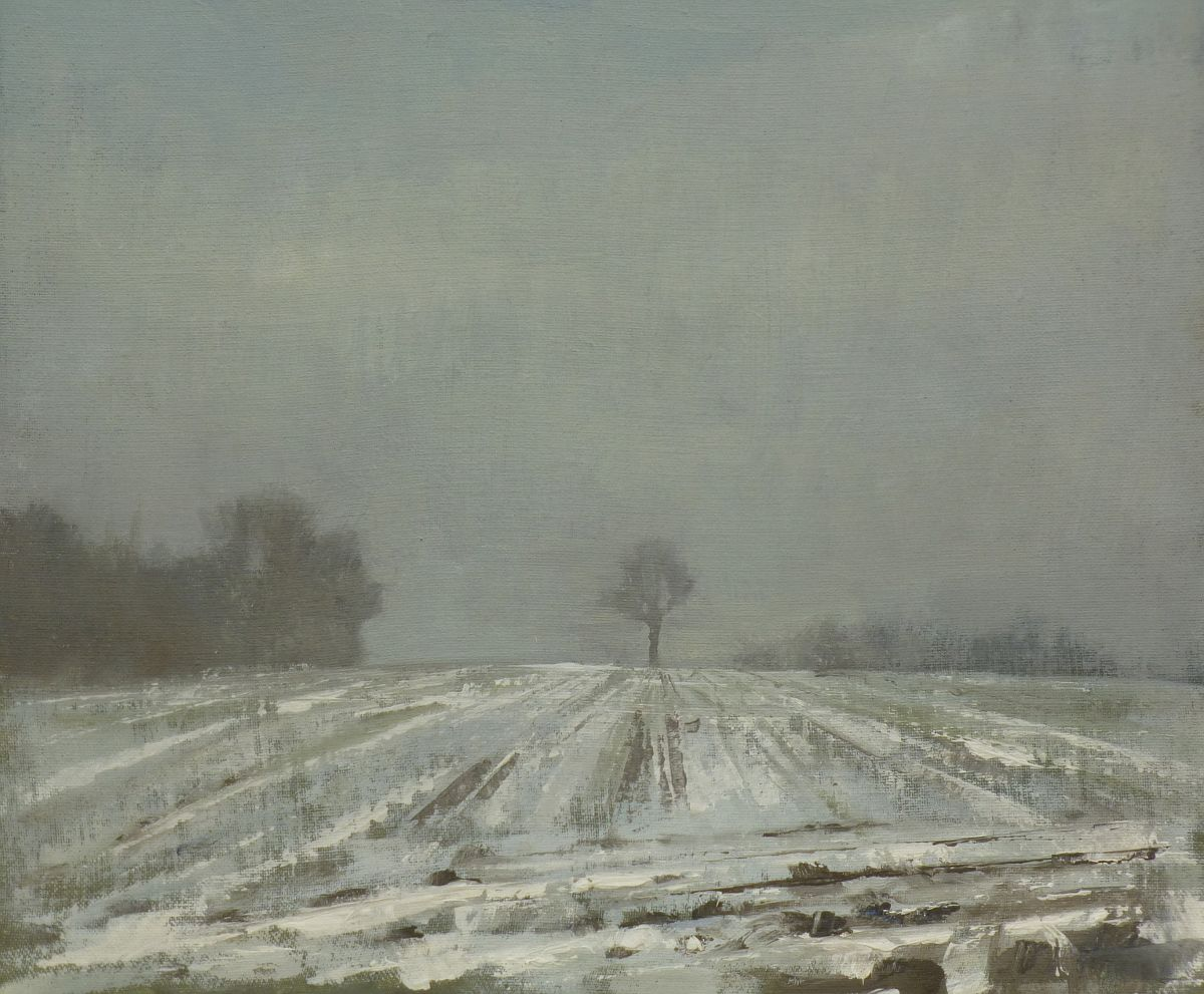 """""""Winter Field"""" by Roy Connelly"""