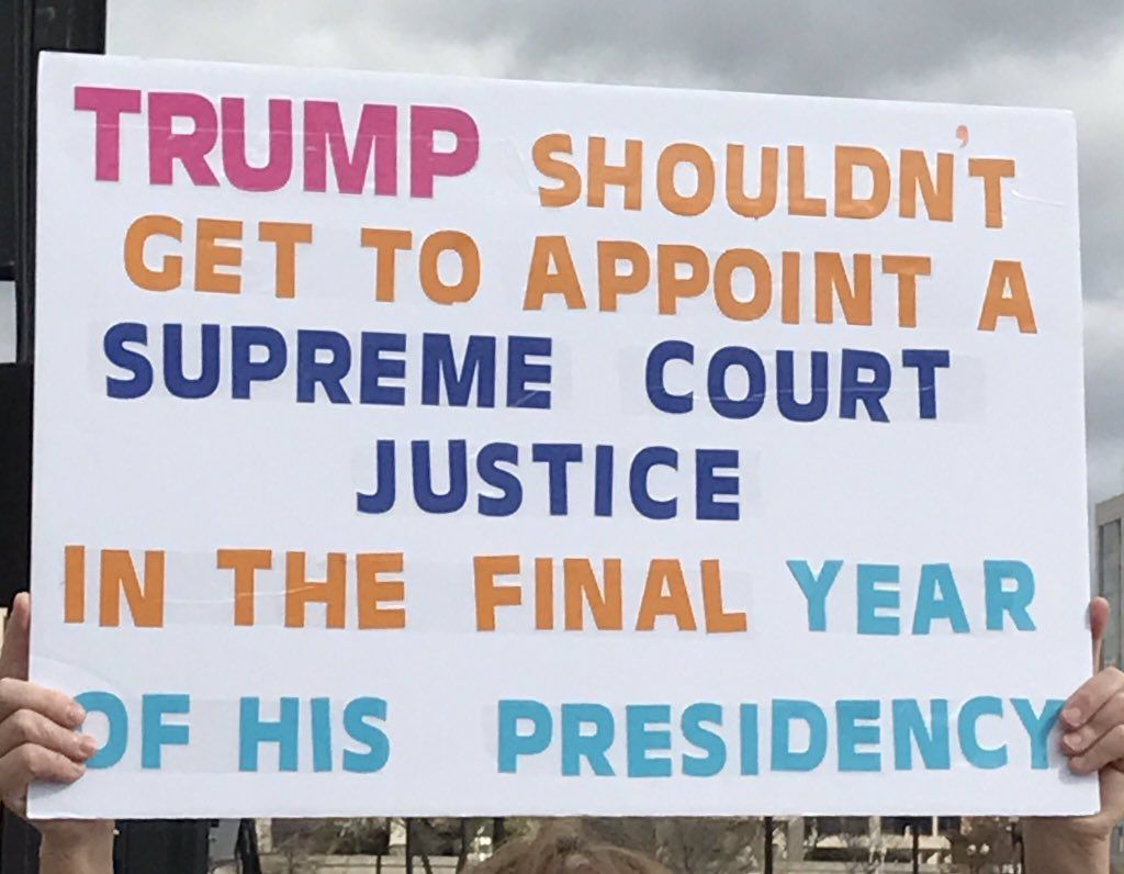 Bradley Whitford Whitfordbradley Twitter Supreme Court Justices March Against Trump Fun Signs