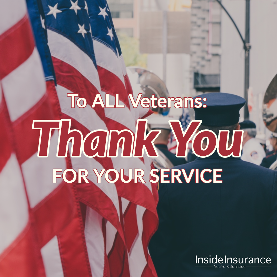 A Special Thank You To All The Veterans Who Have Served And To