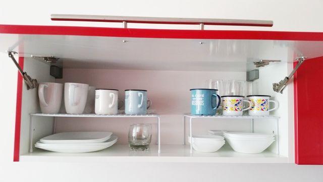 Aprovecha el espacio en la cocina / kitchen cabinet organization