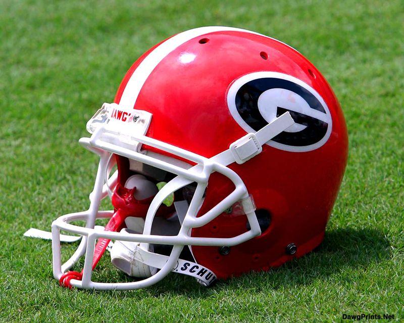 Uga Helmet Football Helmets Georgia Bulldogs Helmet