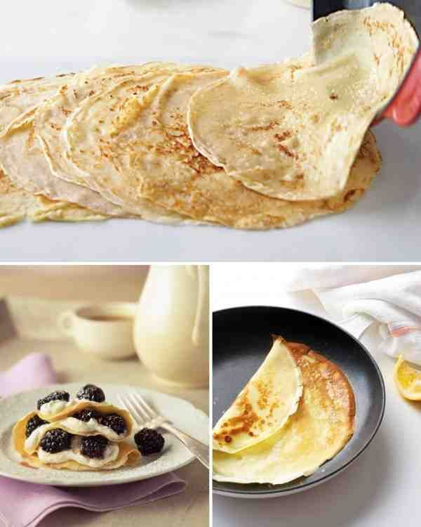 Chestnut Crepes with Ricotta (gf, low-histamine)