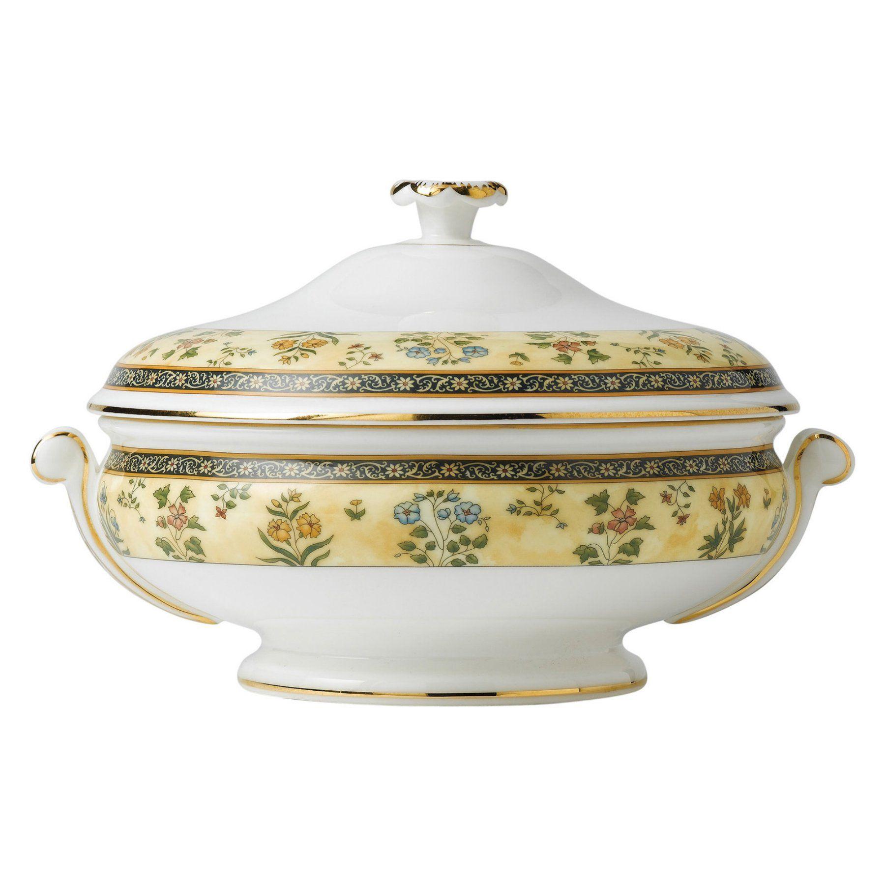 Wedgwood India Covered Vegetable Bowl - 50193206139