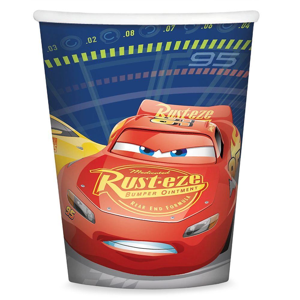 Cars 3 Paper Cups | shopDisney