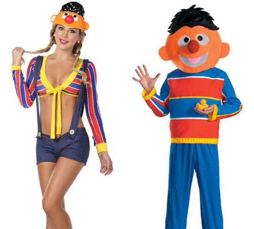 Over sexualized costumes