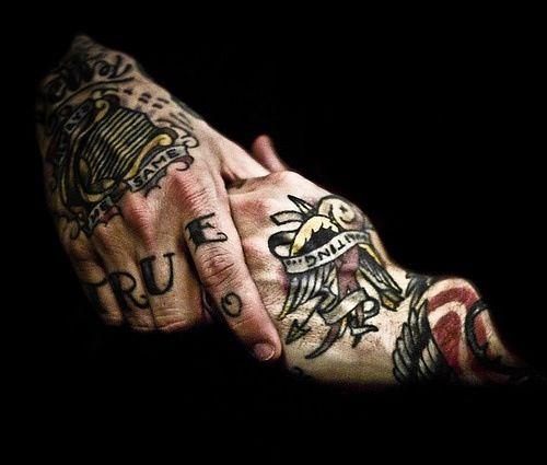 Dallas Hand Tattoos City And Colour Dallas Green