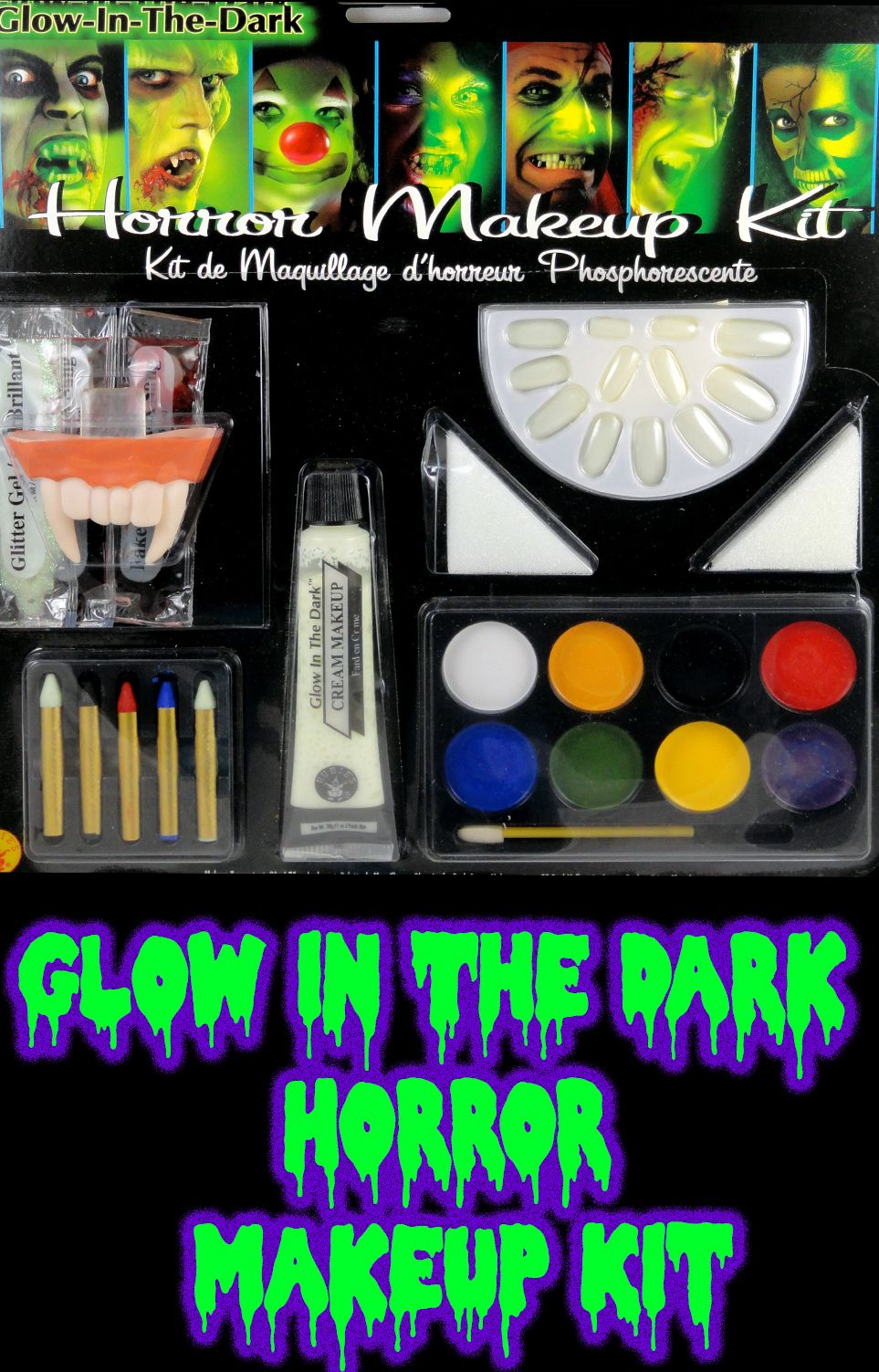 Glow In The Dark Horror Makeup Kit (With images) Glow in
