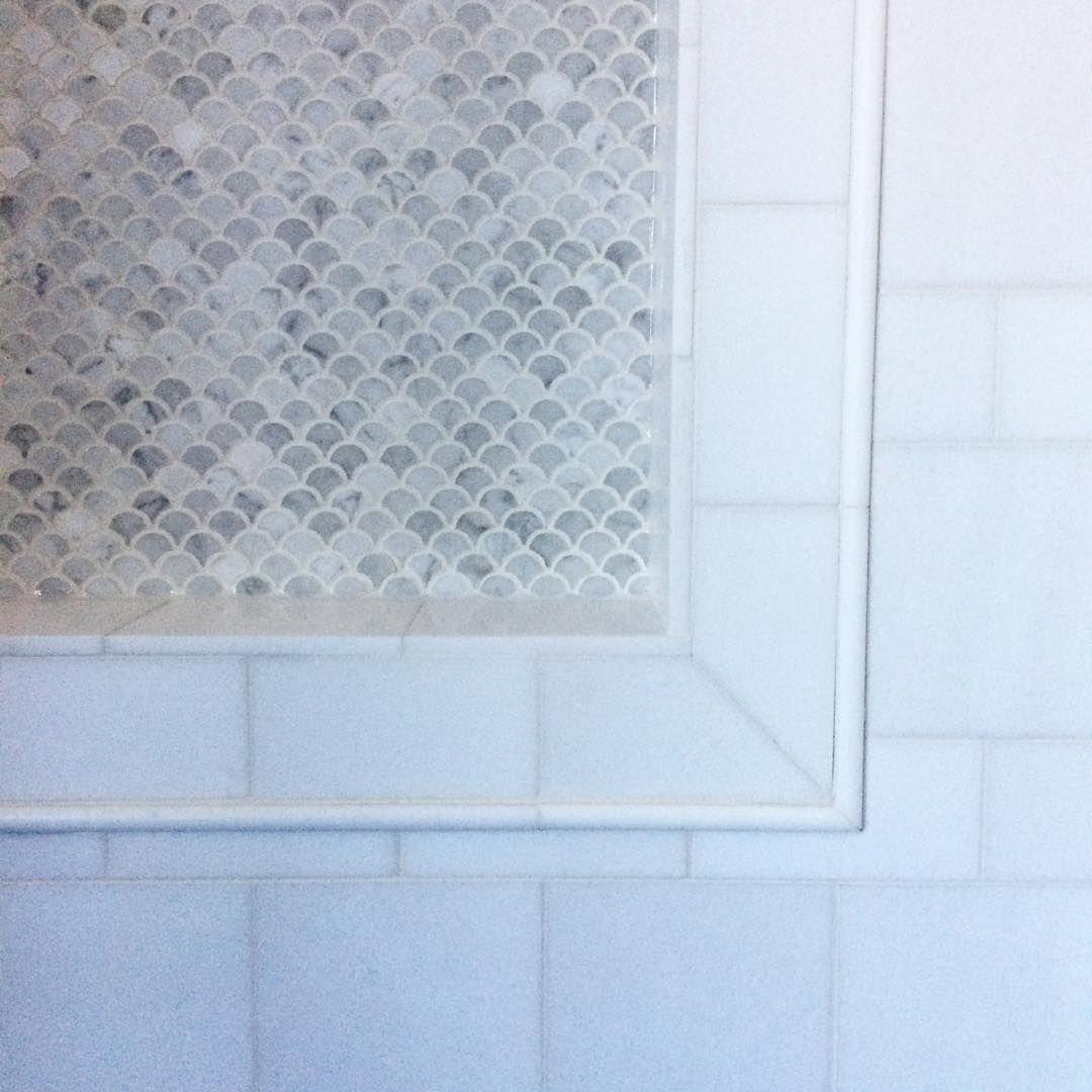 Reena Sotropa In House Design Instagram #marbletile #showertile ...