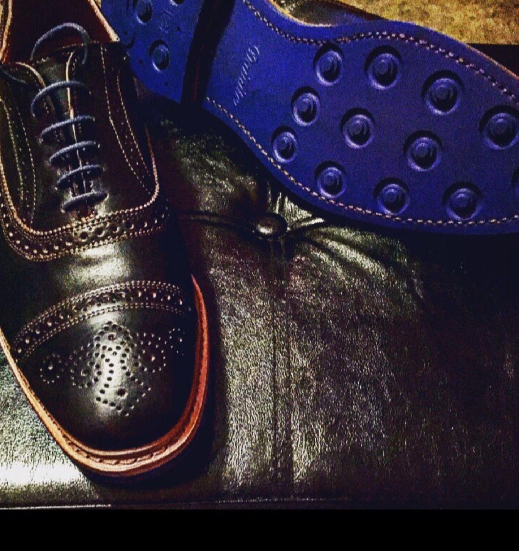 2a91d6cdc176c #Black #Strandmok with blue #Dainite soles by Allen Edmonds | #AllenEdmonds  #Strandmok #Dainite