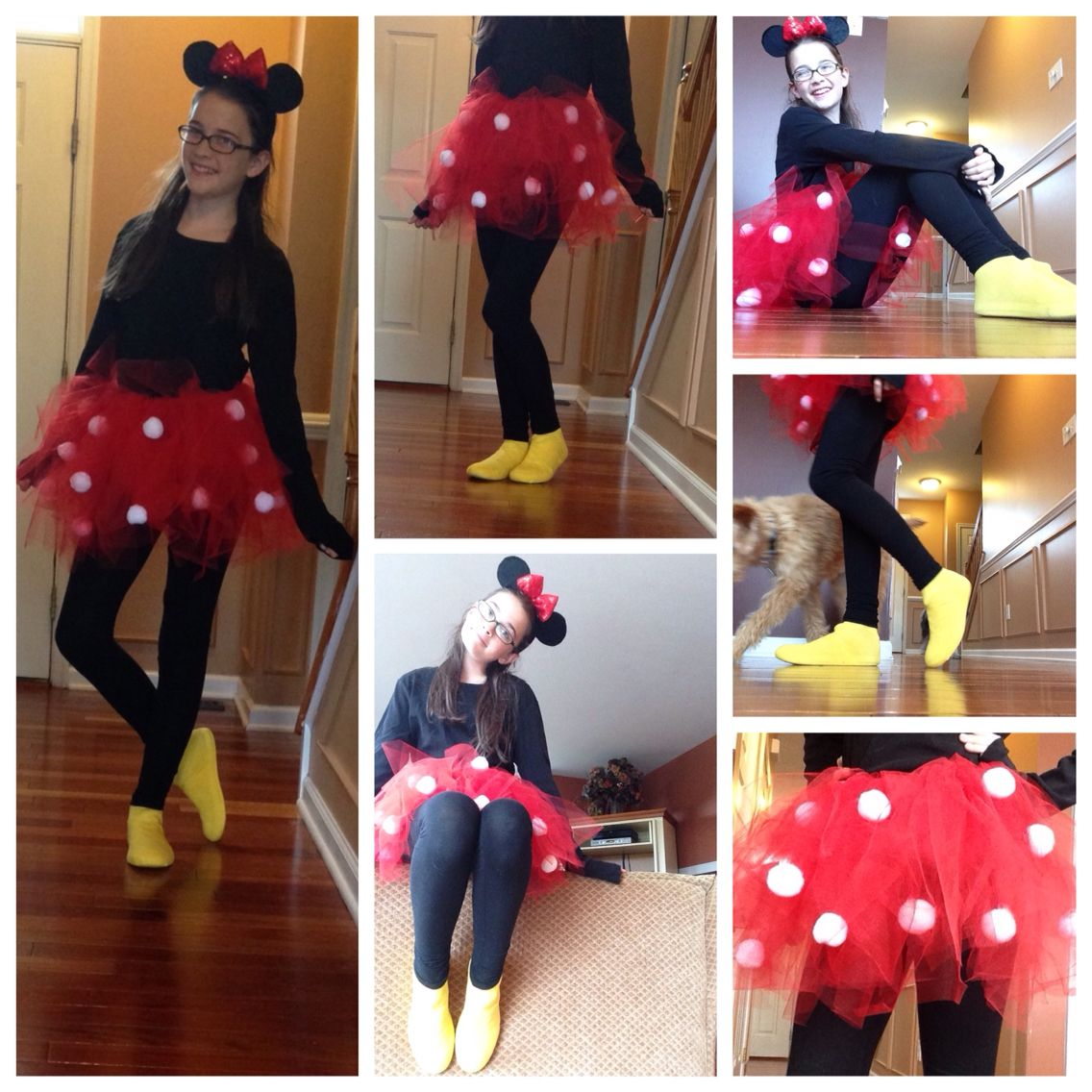 Diy Minnie Mouse costume! Perfect for Halloween! Halloween party - Minnie Mouse Halloween Decorations