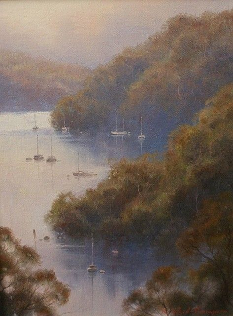 Pittwater Dusk, Sailors Bay, Middle Harbour, Sydney - Ramon Ward-Thompson