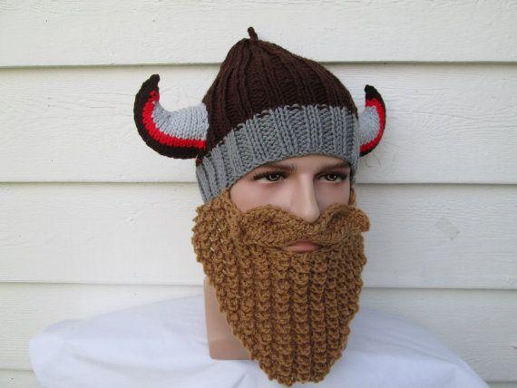 a6cea6aced2 Long Beard Viking bearded hat ski mask Face Mask by Ritaknitsall ...