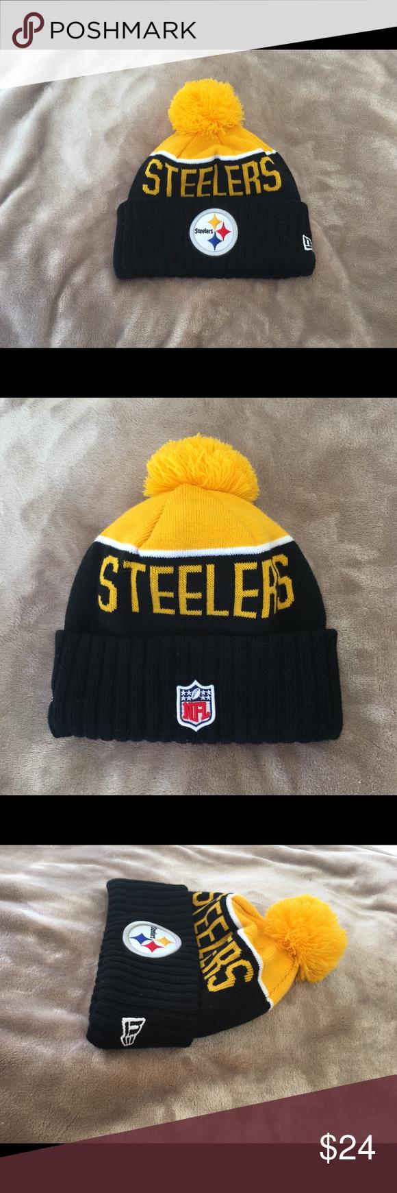 9f106319450 NFL Pittsburgh Steelers Winter Hat NFL Pittsburgh Steelers unisex winter  beanie   ski hat. Never worn