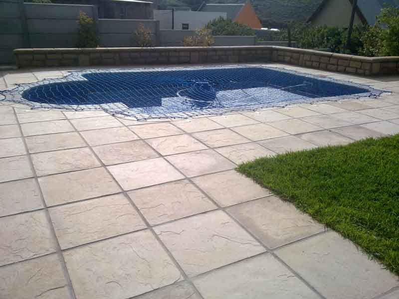 swimming pool paving   sky is the limit construction   pinterest
