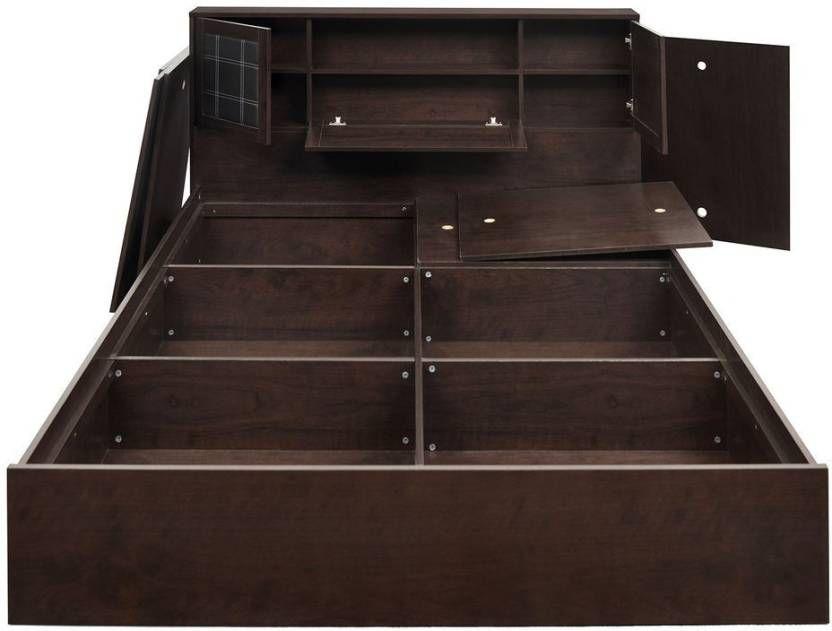 Nilkamal Monarch Engineered Wood Queen Bed With Storage Buy Nilkamal Monarch Engineered Wood Queen Bed With Storage Box Bed Engineered Wood Storage Bed Queen