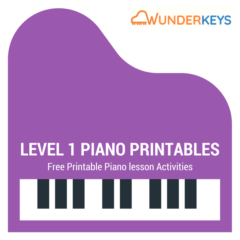 Free Printables For Level 1 Piano Students Beginner Piano Lessons Piano Lessons For Kids Piano Teaching