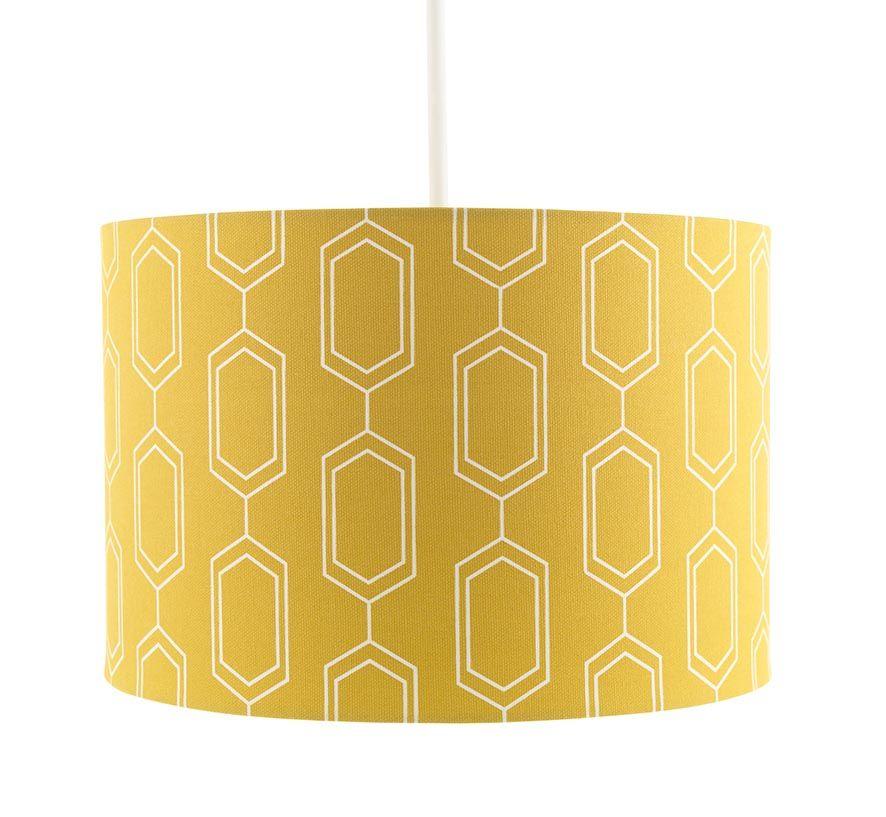 Sainsbury S Mustard Geometric Lamp Shade Sainsbury S Geometric Lampshade Geometric Lamp Lamp Shade