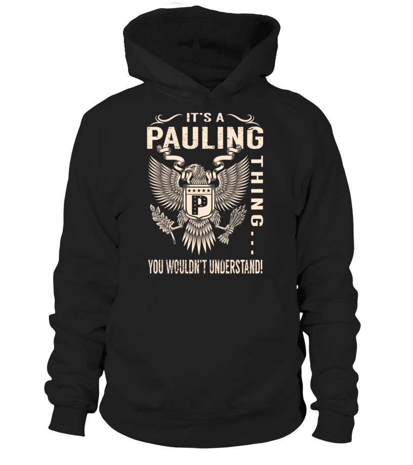 It's a PAULING Thing, You Wouldn't Understand