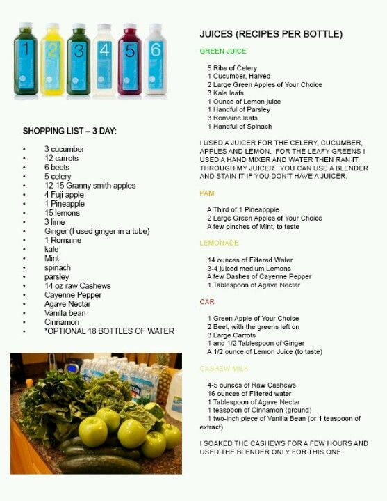 3 day cleanse recipes juices chekwiki so i am starting my healthy lifestyle change today ordered the actual blueprint cleanse and will malvernweather Images