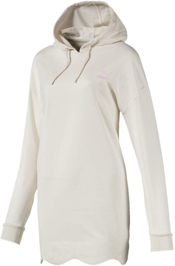 4faa547c938c Scallop Elongated Women s Hoodie Puma Sweatshirts