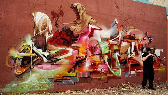 graffiti vs