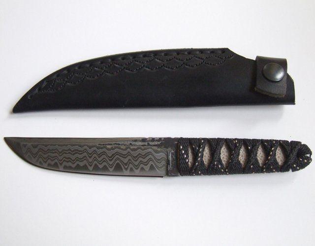 Damascus Tanto Knife