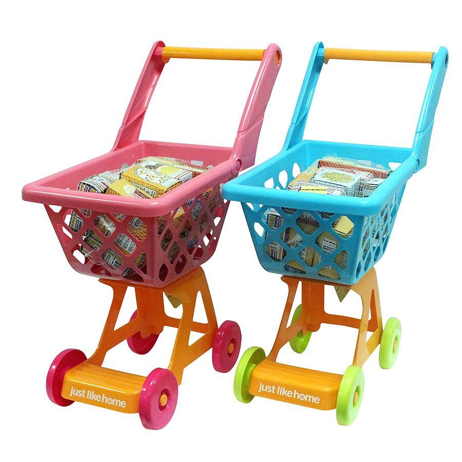 a8bdd704ce8d Just Like Home 14Piece Shopping Cart - Assorted