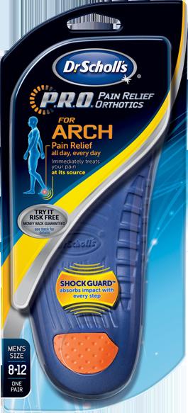 Dr scholls heel pain relief orthotics