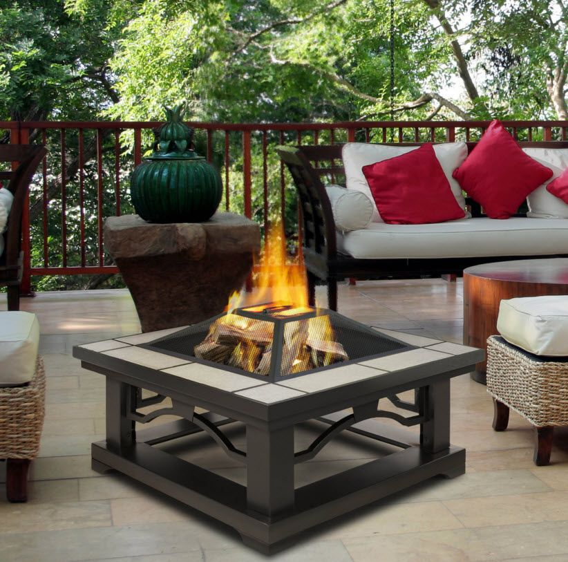 Portablefireplace Wood Fire Pit Portable Fire Pits Outdoor Fire Pit