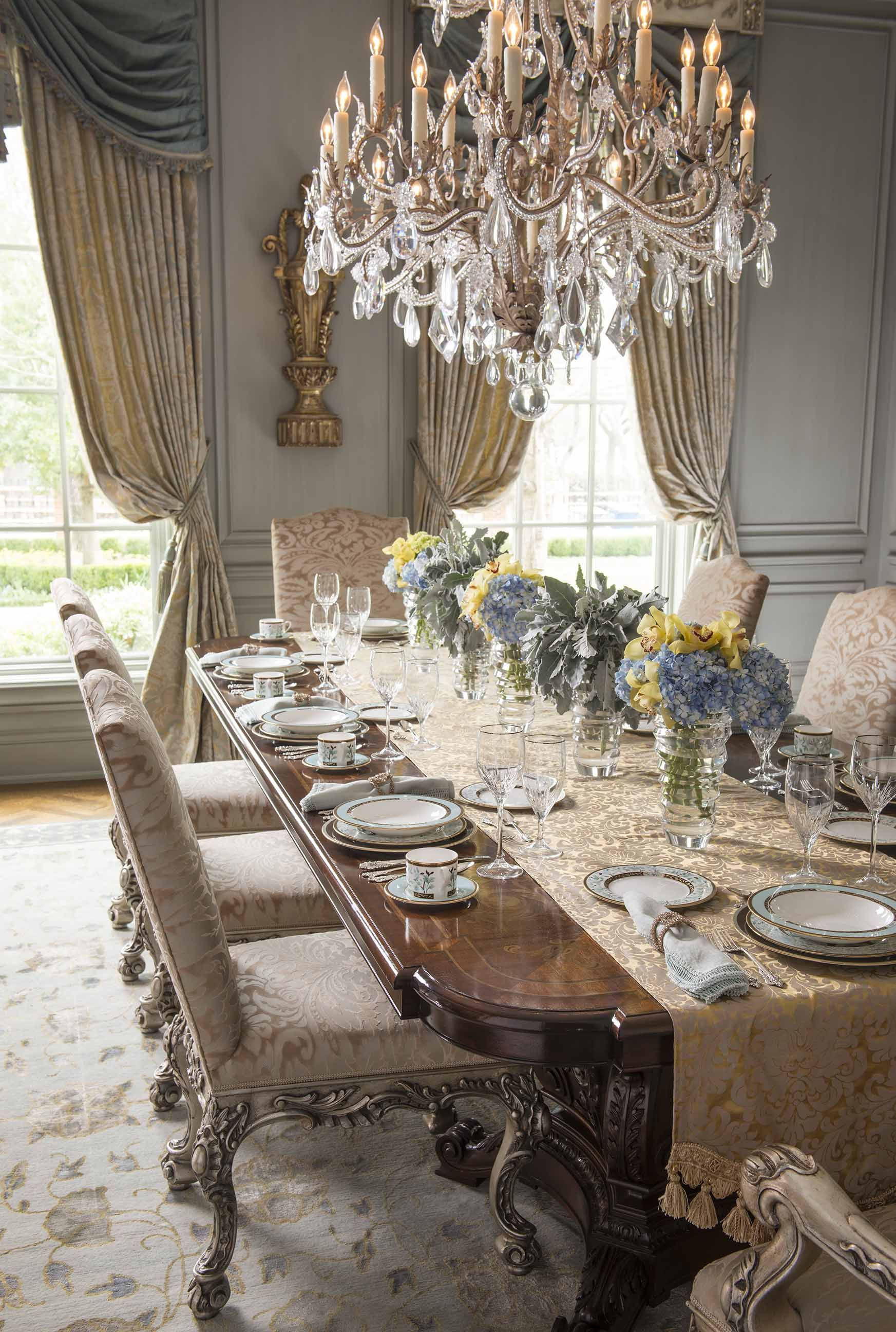 Charming DallasDesignGroup | Portfolio | Project | A Magical Elegance · Dining Room  LightingLuxury ...