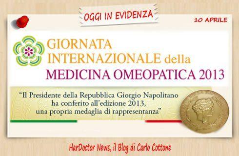 Giornata Internazionale della Medicina Omeopatica 2013