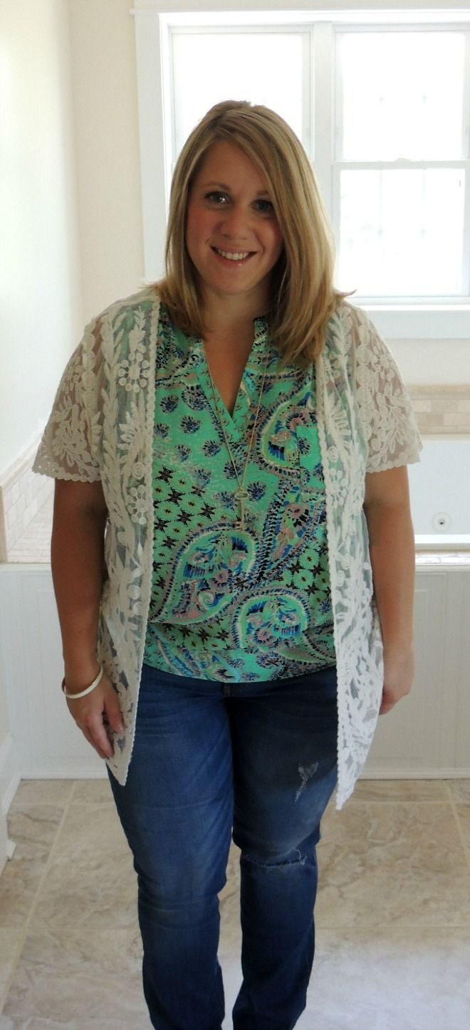 Crochet Lace Kimono Stitch Fix - really cute; love that it is structured. Would like to try this or similar.