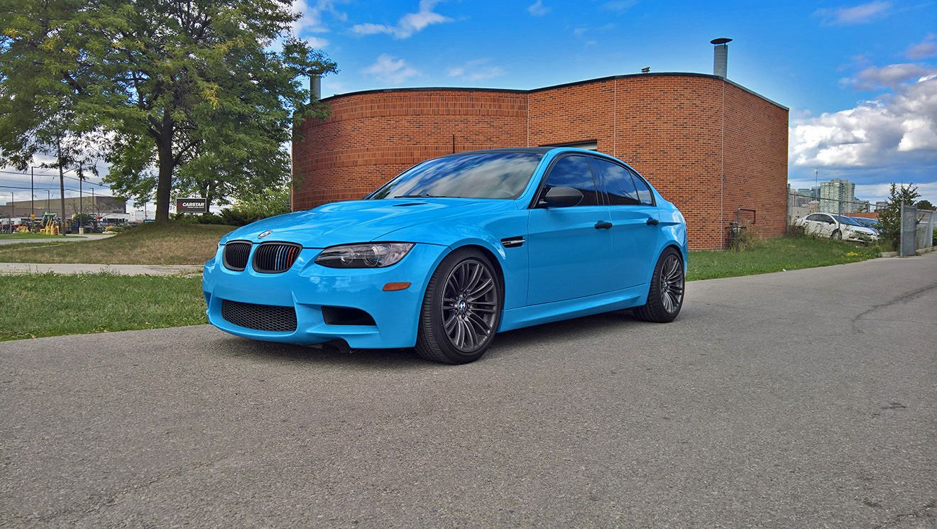 Bmw M3 Light Blue
