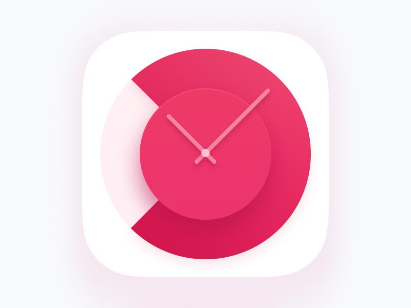 Icon For Pomodoro Tracker Ios App Icon App Design Inspiration Icon Design