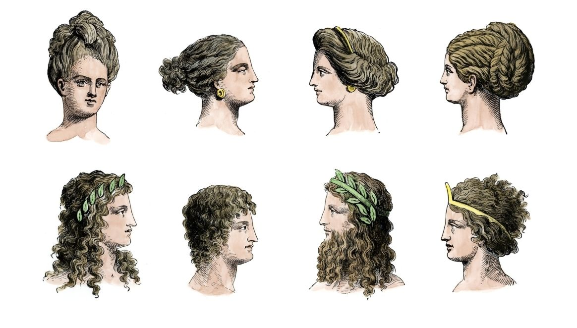 Greek Hair Greek Hair Greek Goddess Hairstyles Ancient Greece Fashion