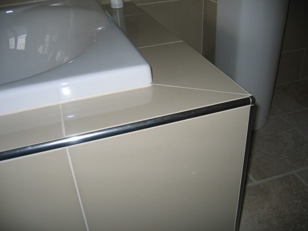 Tiling Edges And Corners Google Search Family Bathroomtiling