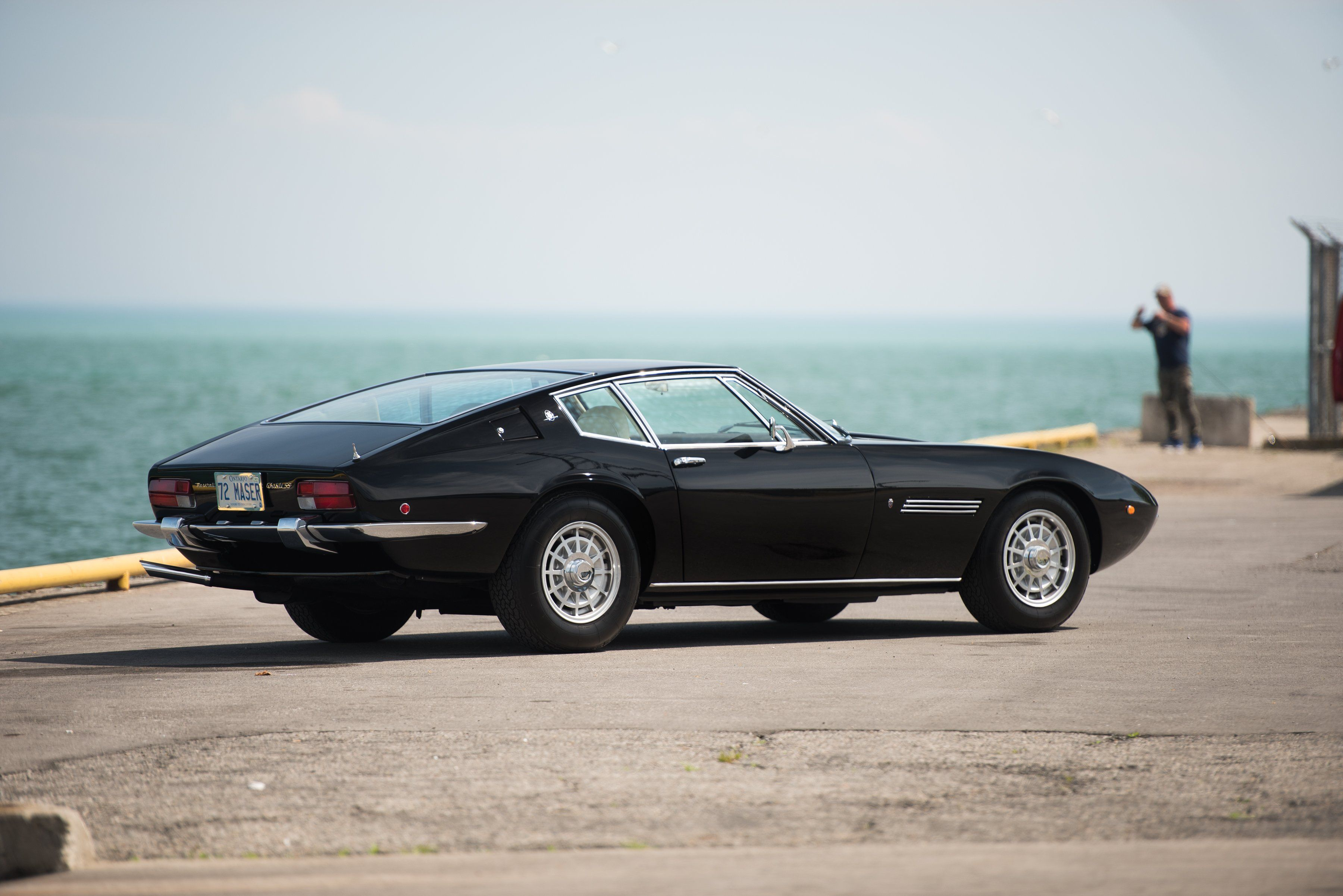 1970-73 Maserati Ghibli SS US-spec AM115-49 classic supercar s-s ...
